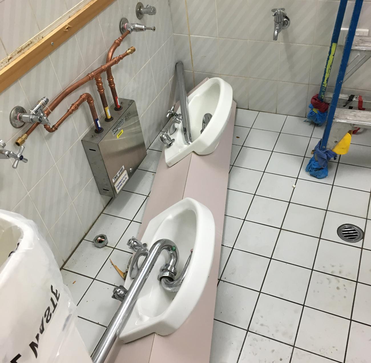 Bathroom Demolition And Renovation